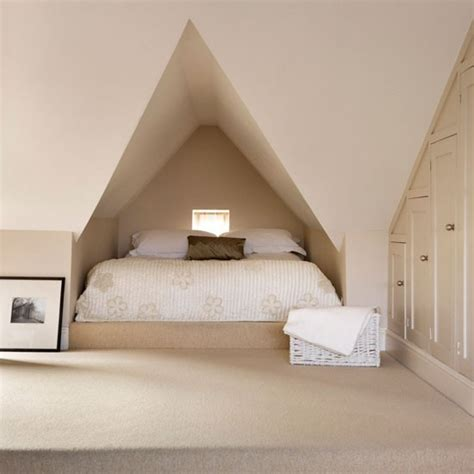 attic bedrooms ideas neutral attic bedroom bedroom idea housetohome co uk