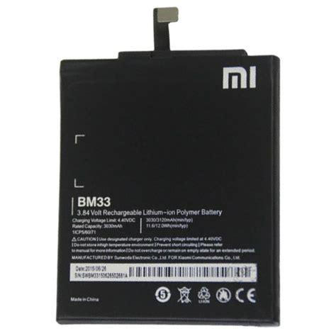 Battery As Power For Xiaomi Mi4i Soket baterai xiaomi mi4i 3030mah bm33 black