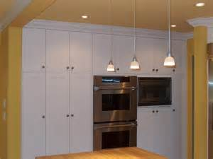 Built In Kitchen Cabinet by Simple White Built In Cabinets Traditional Kitchen