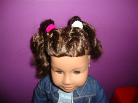 hairstyles to do on dolls ag doll hair curly hairstyles freanch braided ponies