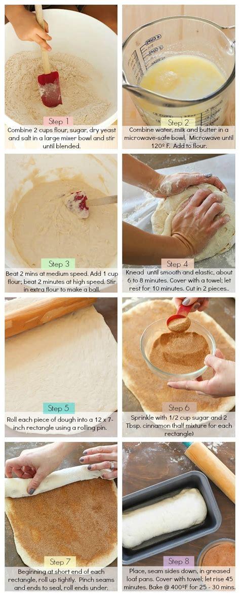 cinnamon swirl bread yummy healthy easy