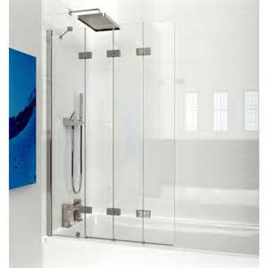 bath shower screen kudos 4 panel compact bath screen uk bathrooms