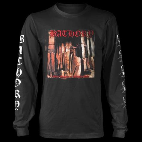 Longsleeves Distro bathory the sign of the black sleeve t