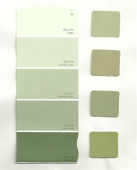 different shades of green paint high cotton