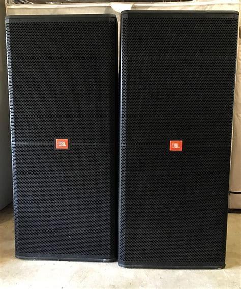 Speaker Jbl Srx725 jbl srx 725 pa speakers pair w covers reverb