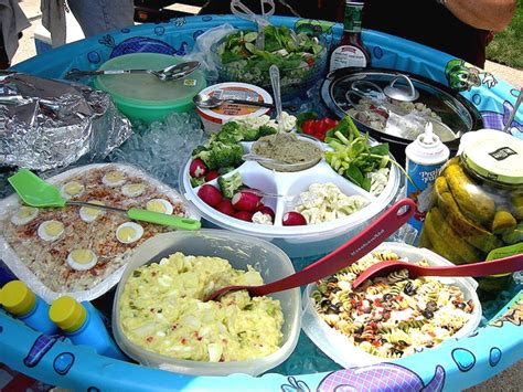 backyard party menu ideas cool new ways to use a kiddie pool this summer