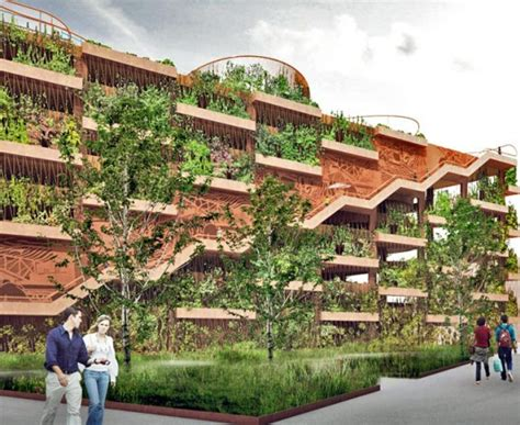 The Green Garage by Jaja Architects Reinvent The Parking Garage As A Green