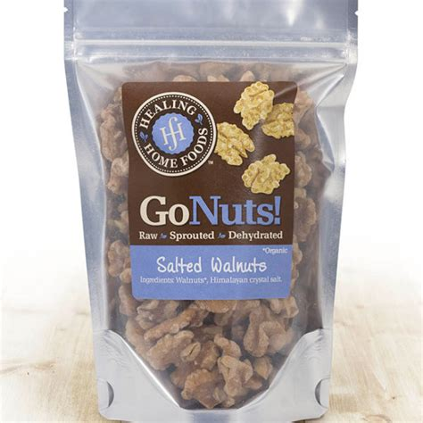 salted walnuts healing home foods