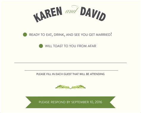 Wedding Invitation Rsvp Wording by Wedding Rsvp Wording Ideas