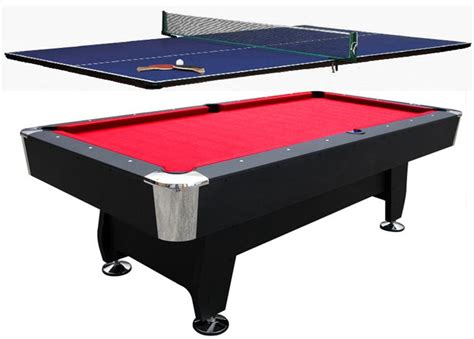 8ft pool table snooker billiard ping pong top