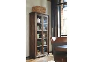 Curio Cabinets By Ashley Furniture Zenfield Curio Ashley Furniture Homestore