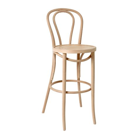 Bent Wood Stool by Bentwood Stool With Back Stained Jmh Furniture