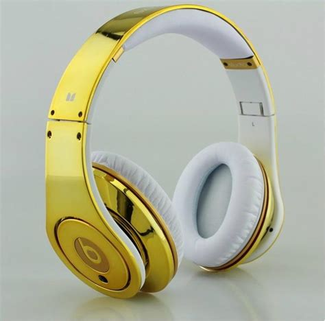 Monster Beats By Dr Dre High Performance Headphones Plated   Gold (China)   Products