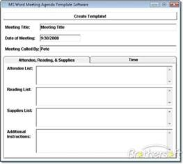 word meeting template free ms word meeting agenda template software ms