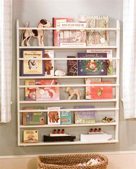 bookcase for children s room diy wall shelves for more organized interior