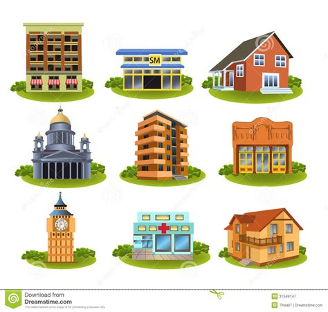 A Place For Free Community Places Clipart