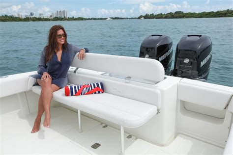 key west boat cooler seats center consoles 340 open details seavee boats