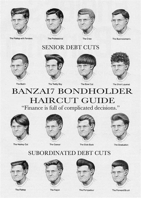 haircut numbers for men official bondholder haircut guide williambanzai7 colonel