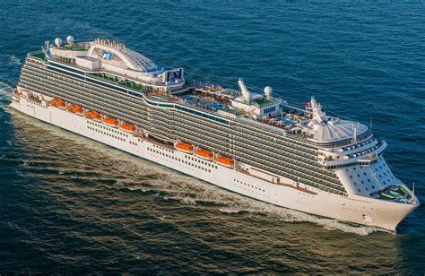 princess cruises enchanted princess royal princess itinerary schedule current position