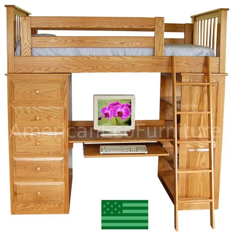 wooden loft beds pdf wood loft bed plans free