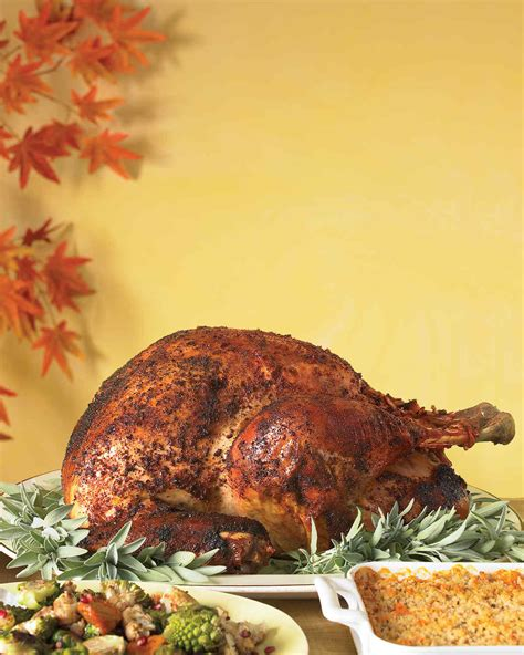 for turkey recipe spice rubbed roast turkey recipe martha stewart