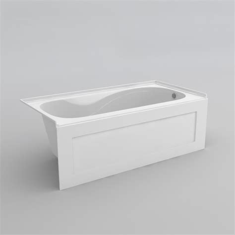 acri tec bathtubs robson ii 5 skirted bathtub acri tec industries