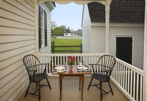 Colonial Style Decorating Ideas Home by Ewing House Colonial Williamsburg Farmhouse Porch