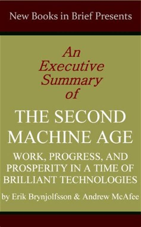 text book of the elements of machine work prepared for students in technical manual and trade schools and for the apprentice in the shop classic reprint books an executive summary of the second machine age work