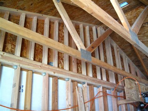 Furring Strips Ceiling by Furring Out Existing 2x4 Ceiling For C C Spray Foam