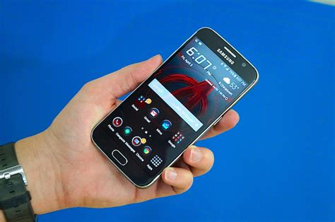 themes in galaxy s6 are custom galaxy s6 themes slowing it down pocketnow
