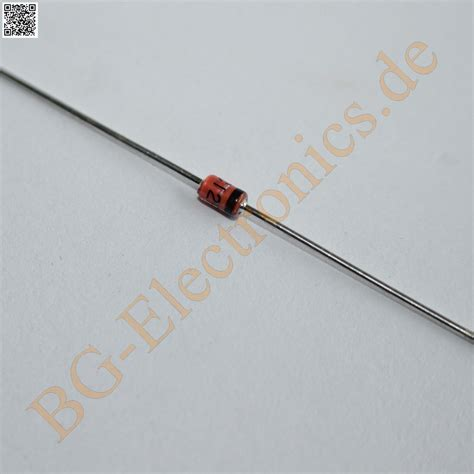 electrical zener diode 10 x bzv85 c12 12v 1w silicon planar power zener diode philips do 41 10pcs ebay