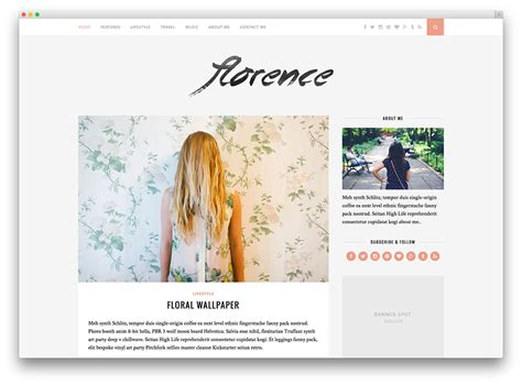 themes tumblr site 20 best pinterest style wordpress themes 2017 colorlib