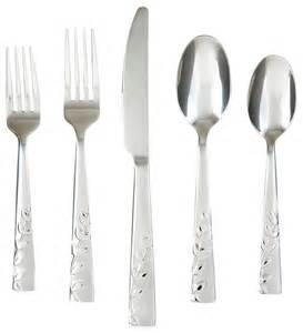 Flatware Sets products kitchen tabletop flatware flatware amp silverware sets