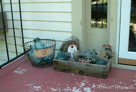 Decorate Front Porch decorating your front porch hoosier homemade