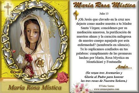 imagen virgen maria rosa mistica im 225 genes de cecill virgen mar 237 a rosa m 237 stica estita y
