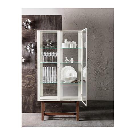 Stockholm Glass Door Cabinet Stockholm Glass Door Cabinet Beige 90x180 Cm Ikea
