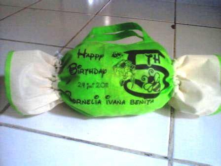 Tas Souvenir Ulang Tahun Anak Model Permen tas souvenir model permen turun harga aneka tas murah