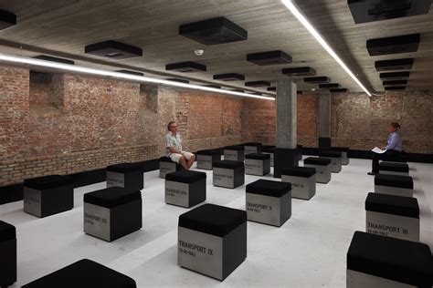 Dishonored 3rd Floor Bricked Room - kazerne dossin awg architects archdaily