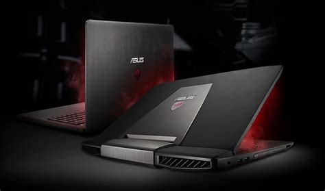 Asus Laptop Gaming Rog G501vw Fy116t asus rog gaming laptops techalone
