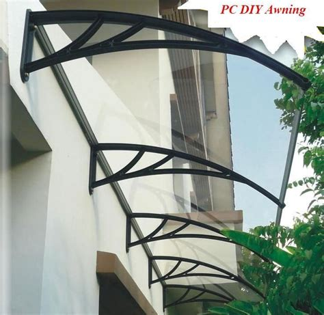 homemade window awnings fab diy awning with pvc who would ever guess bbq