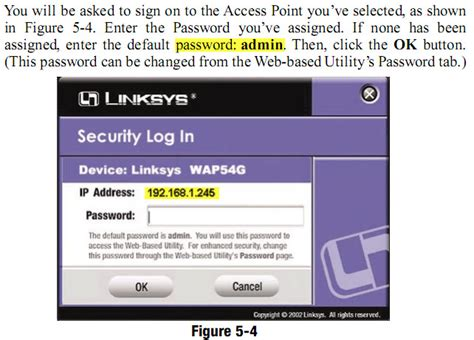 resetting wifi password linksys how to reset linksys wireless g access point using wap54g