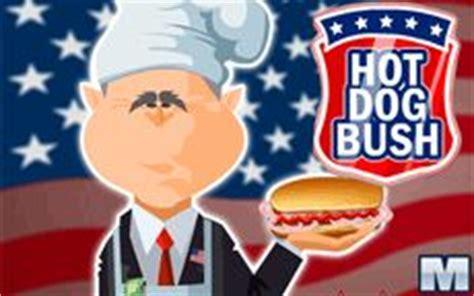 juego de cocina hot dog bush juega a cocinar salchichas hotdog con george bush