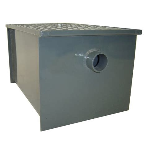 grease trap with removable baffle made carbon steel by john boos gt 8 carbon steel grease interceptor general general
