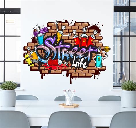 graffiti wall stickers graffiti wall sticker wall decals