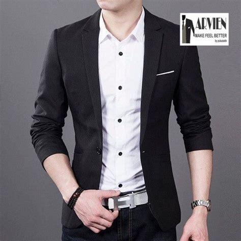 Jas Blazer Pria Korea Blacksuit 136 best images about blazer pria korean blazer on models fit models and kpop