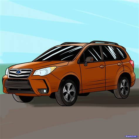 how to an how to draw an suv step by step suvs transportation free drawing tutorial