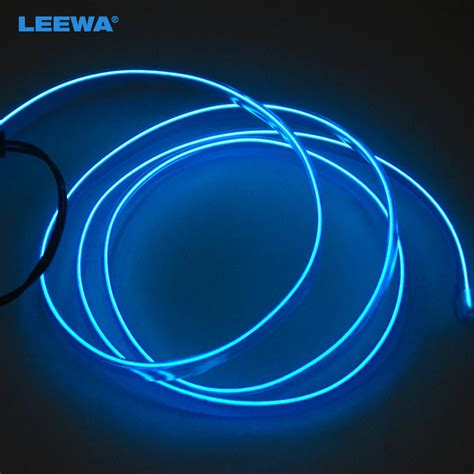 can you join neon rope youtube blue 1m moulding el neon glow lighting rope with fin for car decoration ca3267