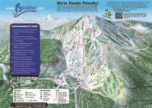 ski resorts oregon map ski resort directory oregon s ski resort directory