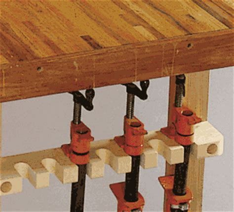 woodworking pipe clamp storage plans