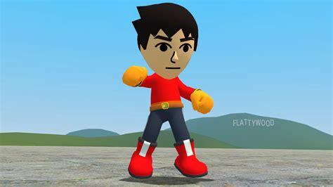 Amiibo Mii Brawler mii brawler ragdoll by supersmashbrosgmod on deviantart